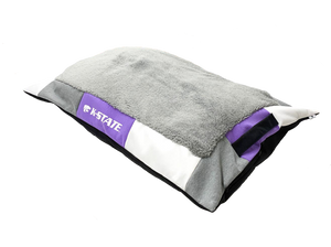 Kansas State Wildcats Reborn Long Dog Bed - 2009217