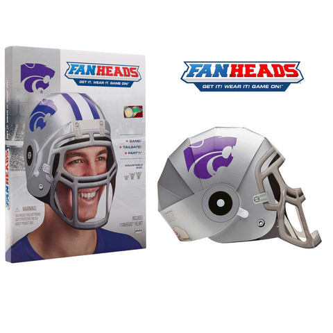 Kansas State Wildcats Fan Heads Helmet - 2008074