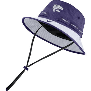 Kansas State Wildcats Nike Purple Sideline Bucket Hat - 2009237