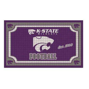 Kansas State Wildcats Embossed Door Mat - 2004990