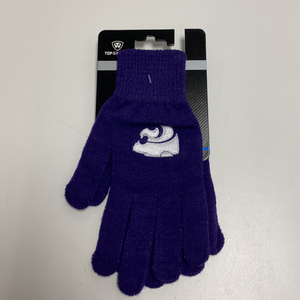 Kansas State Wildcats Purple Knit Gloves - 2009525