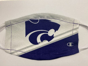 Kansas State Wildcats Champion Ultrafuse Face Mask - 2009242