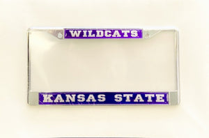 Kansas State Wildcats License Plate Frame - 2008834