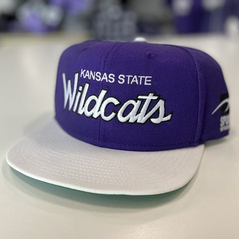 Kansas State Wildcats True Sport Flat Bill Hat - 2006612