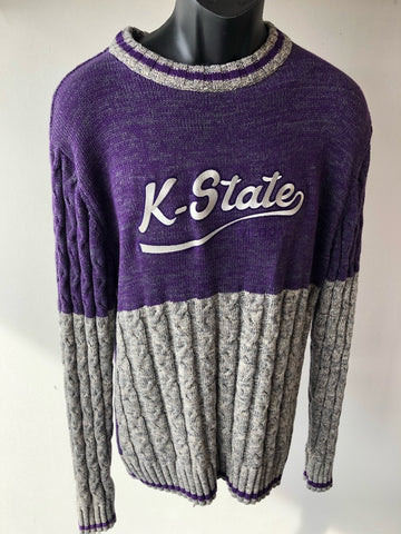 Cable Knit Crew Sweater - 2005845