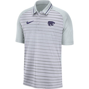 Kansas State Wildcats Nike Men's Stripe Polo - 2007512
