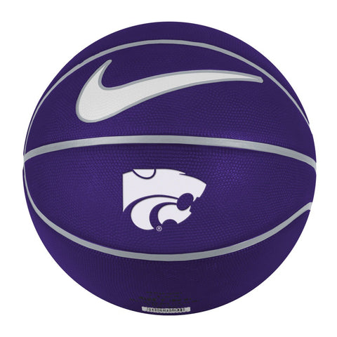 Kansas State Wildcats Nike Inflated Full Size Rubber Basketball - 2006740