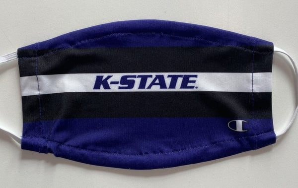 Kansas State Wildcats Champion Heritage Stripe Face Mask - 2009504