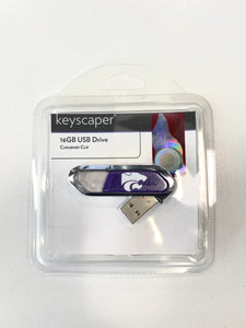 Kansas State Wildcats Twist USB Flash Drive 16GB - 2007022