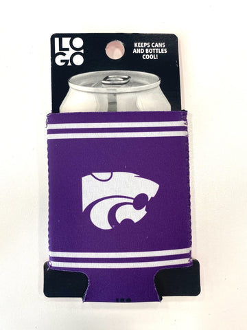 Kansas State Wildcats Logo Can Coozie - 2007357
