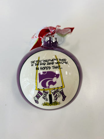 Kansas State Wildcats Football Stockings Ornament - 2008247