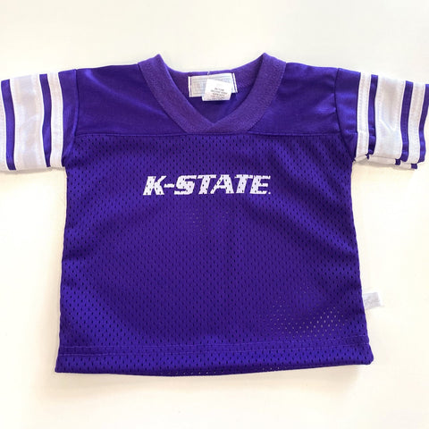 Kansas State Wildcats Youth Dazzle Football Jersey - 2008677