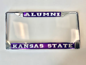 Kansas State Wildcats Alumni License Plate Frame - 2008833
