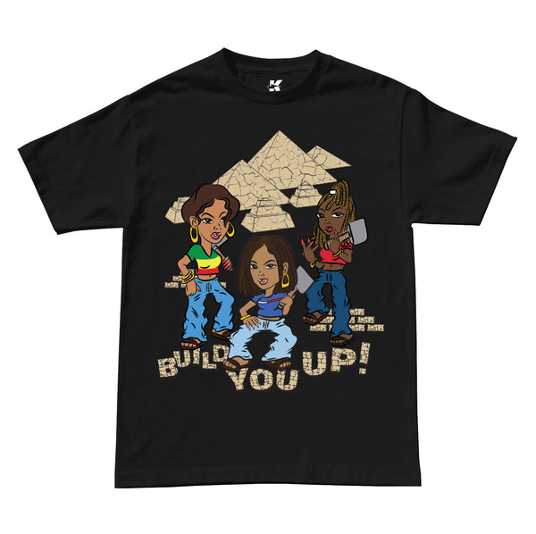 BUILD YOU UP TEE (BLACK)