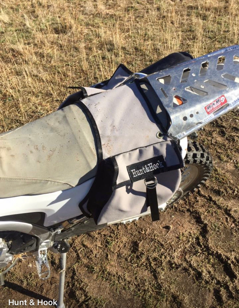 Saddle bags. Quad and dirt bike