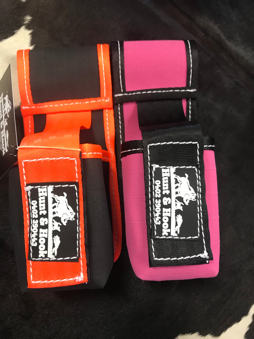 Belt tracker pouch