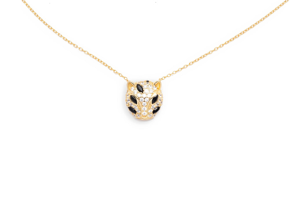 Load image into Gallery viewer, Maya Jaguar Necklace