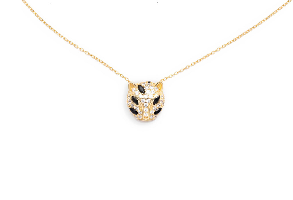 Maya Jaguar Necklace