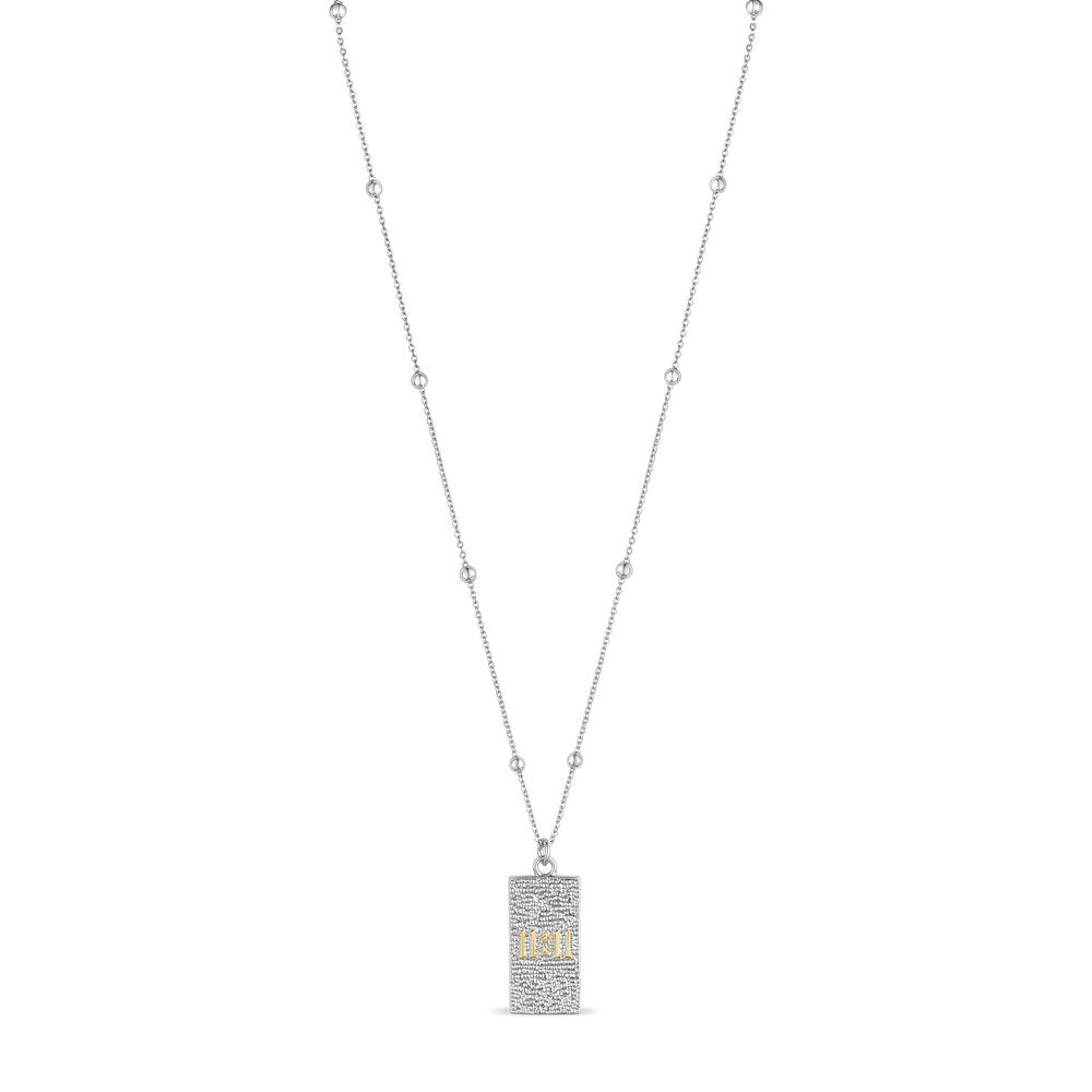 11:11 Card Necklace