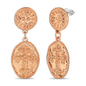 Load image into Gallery viewer, Sacred Cross Earrings