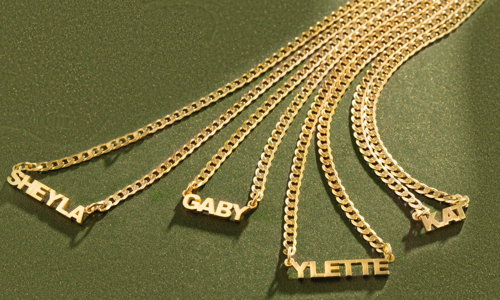 Mini Nameplate Necklace