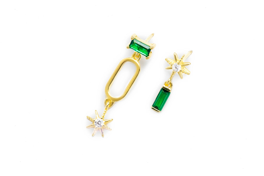 Gem Star Earrings