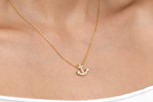Load image into Gallery viewer, Lil Sailor Gal necklace
