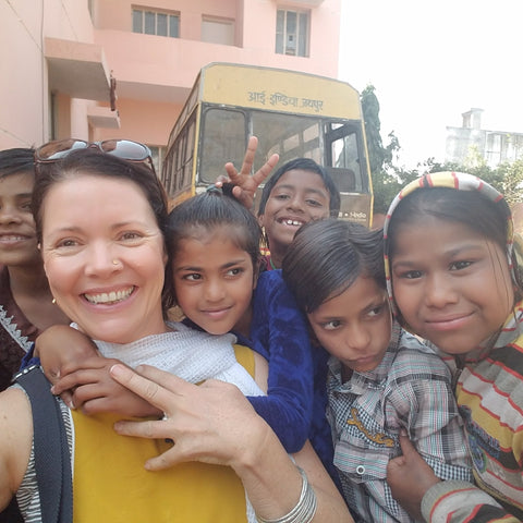 Empowering women and children in India