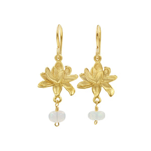 Perfect Petals Opal Earrings - Sati Gems Hawaii