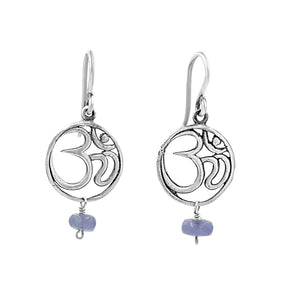 Sound of Peace Tanzanite Earrings - Sati Gems Hawaii Healing Crystal Gemstone Jewelry