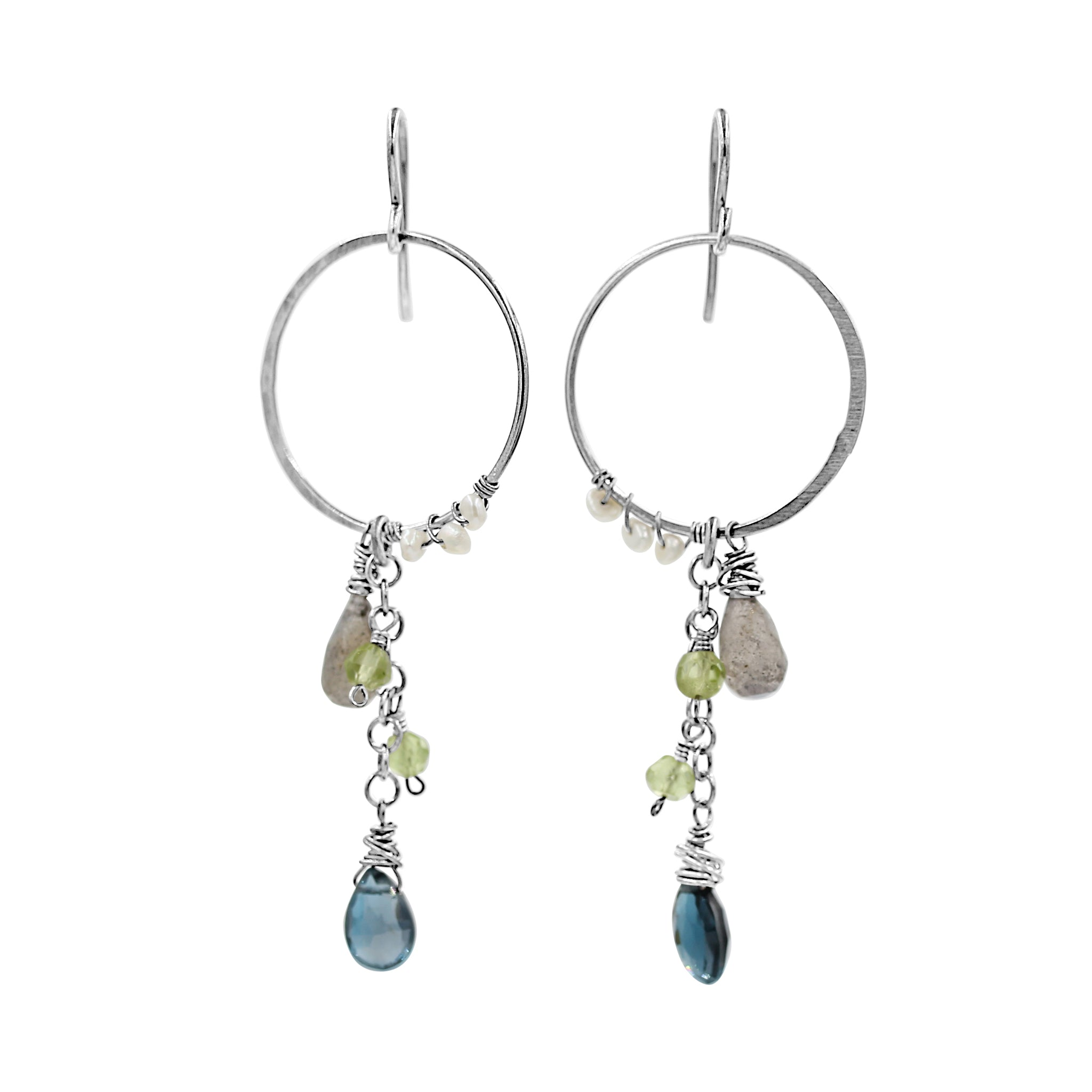 Gorgeous You Earrings - Sati Gems Hawaii Healing Crystal Gemstone Jewelry