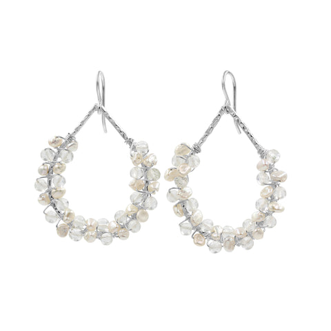 Loving Grace Pearl Earrings - Sati Gems Hawaii