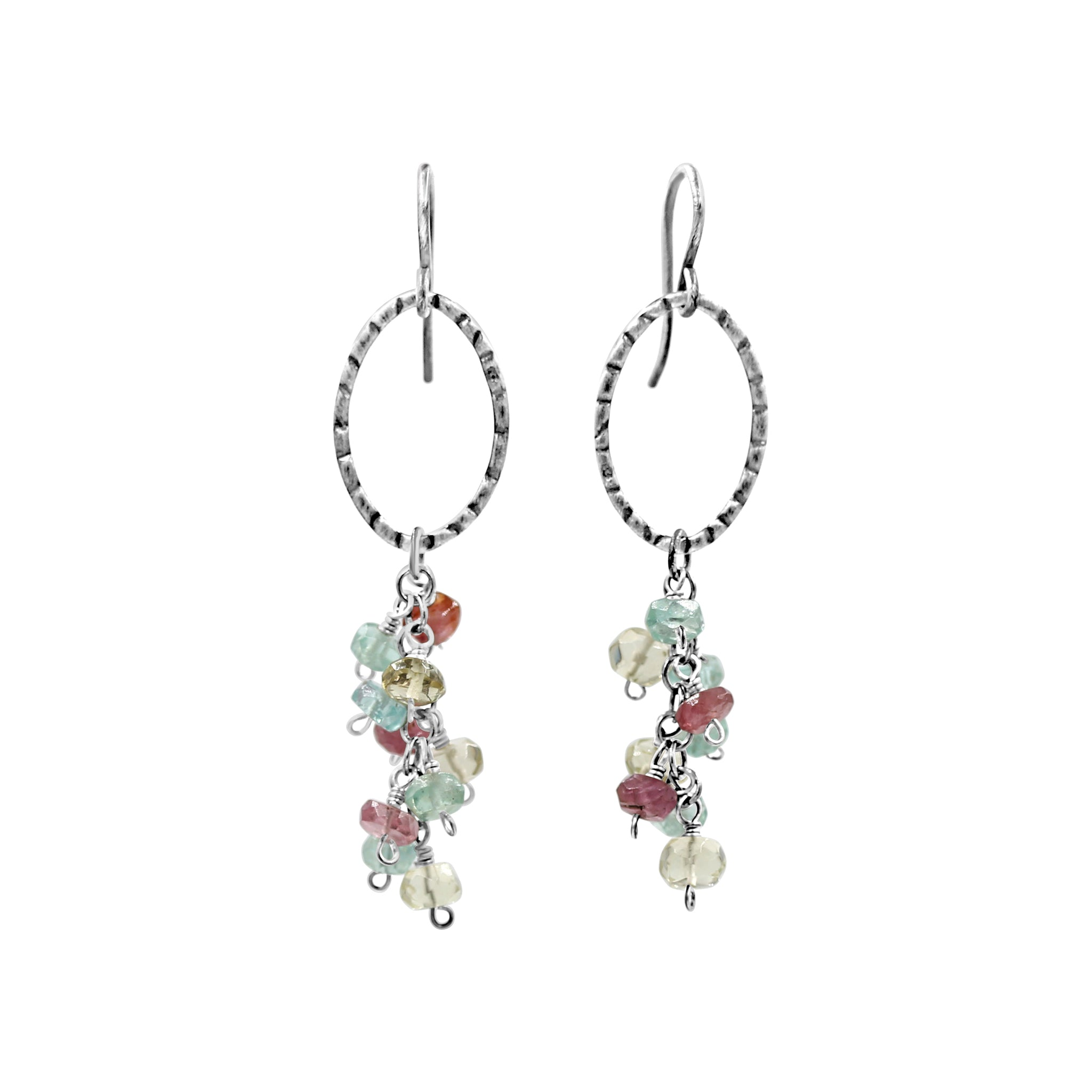 Spring Bloom Earrings - Sati Gems Hawaii Healing Crystal Gemstone Jewelry