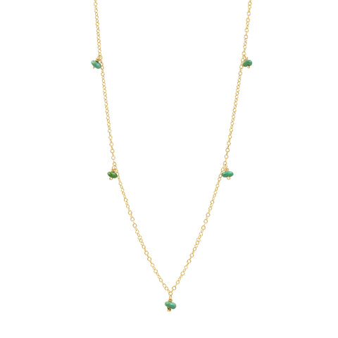 Simply Wonderful Turquoise Necklace - Sati Gems Hawaii Healing Crystal Gemstone Jewelry