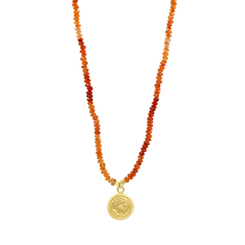 Harmony Carnelian Necklace - Sati Gems Hawaii