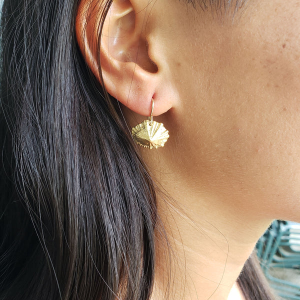 Opihi Shell Earrings - Sati Gems Hawaii Healing Crystal Gemstone Jewelry
