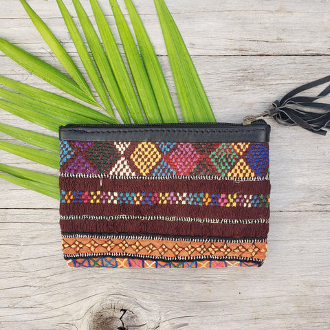 Embroidered Multi-Colored Bag - Sati Gems Hawaii Healing Crystal Gemstone Jewelry