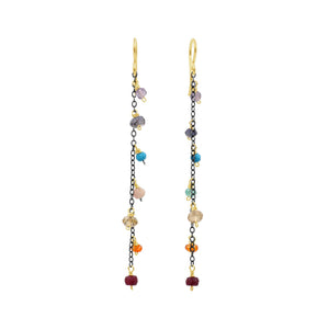 Beyond Beauty Charkra Earrings - Sati Gems Hawaii