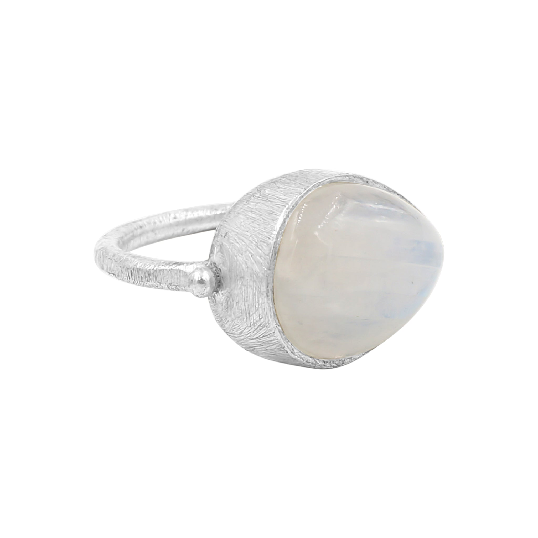 Glow Moonstone Ring - Sati Gems Hawaii