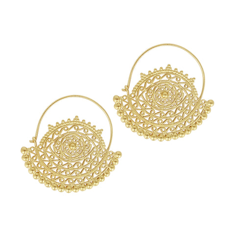 Goddess Lace Earrings - Sati Gems Hawaii