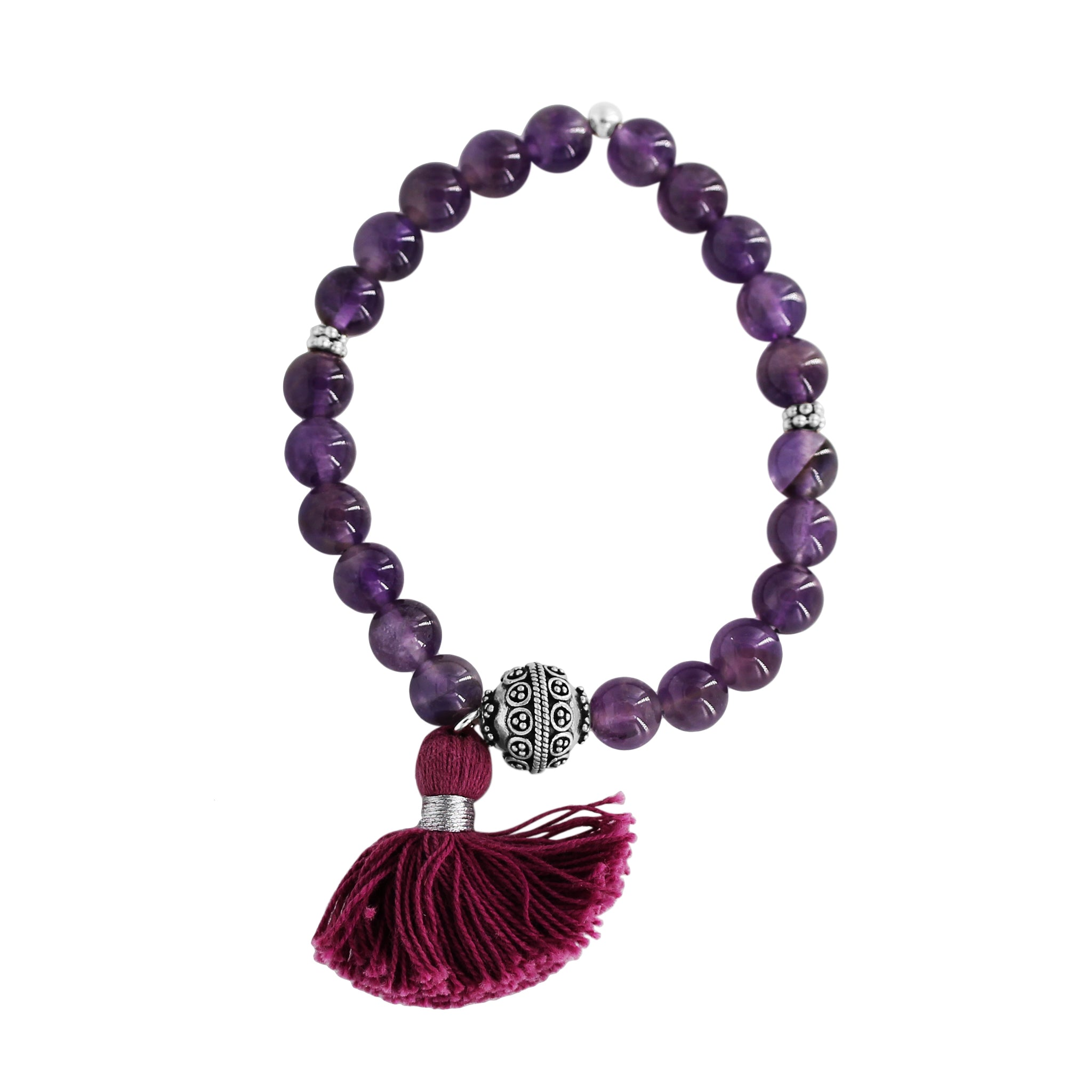 Sweet Dreams Amethyst Mana Bracelet - Sati Gems Hawaii