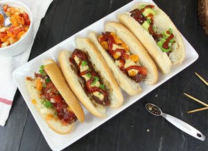 easy kabob hotdogs