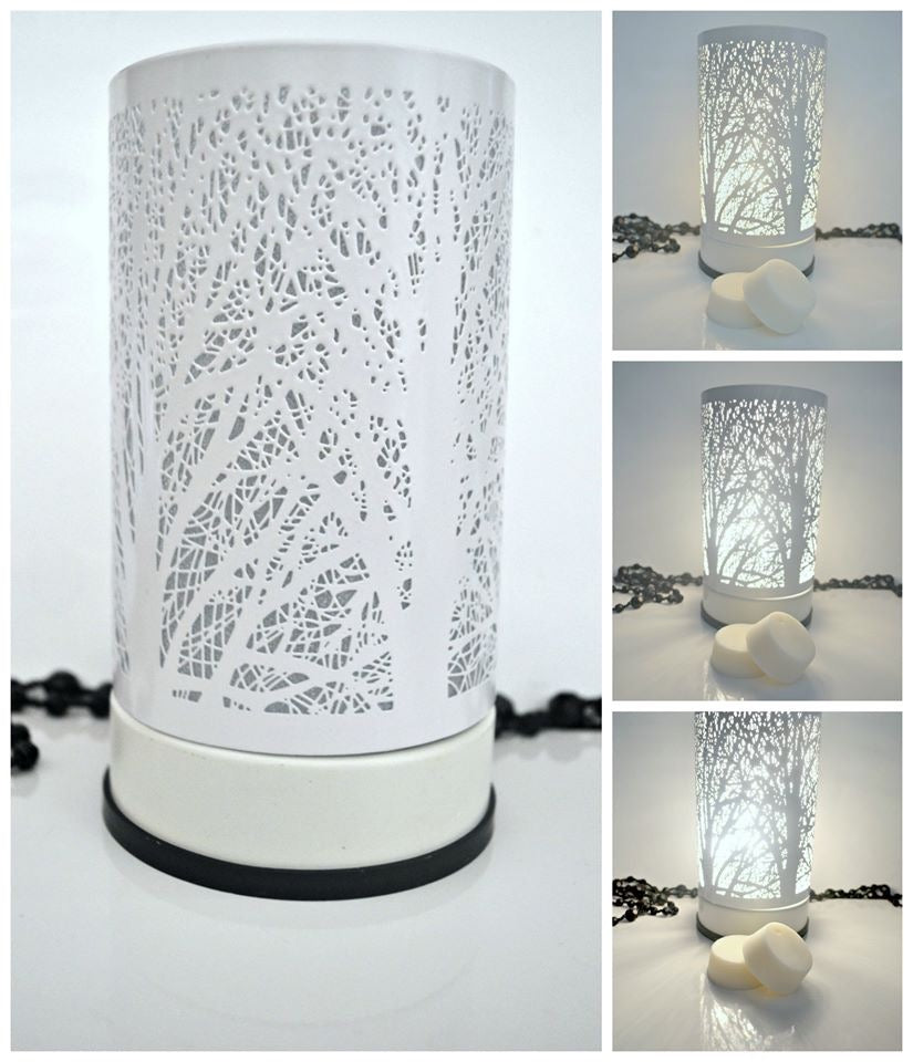 White Tree Touch Lamp