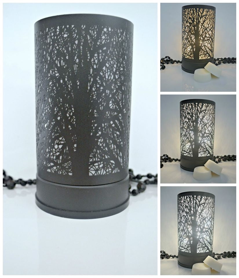 Black Tree Touch Lamp