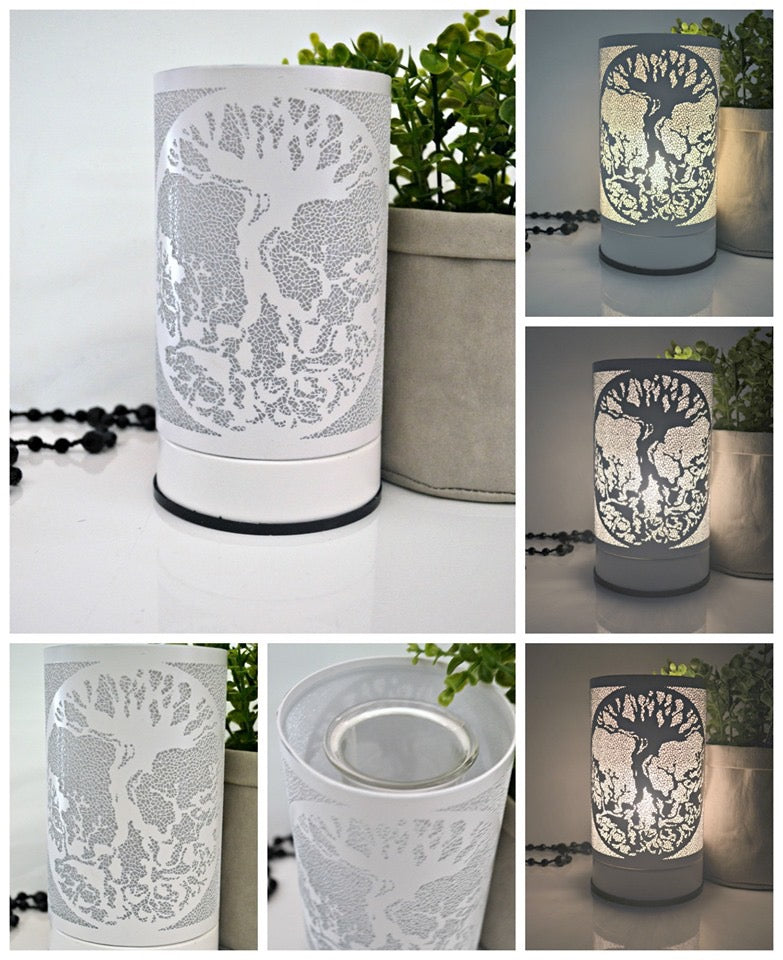 White Tree of Life Touch Lamp