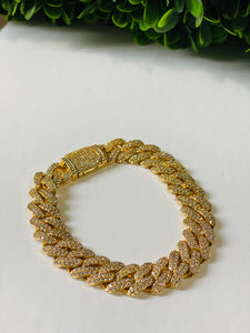 Fully Iced Cuban bracelet