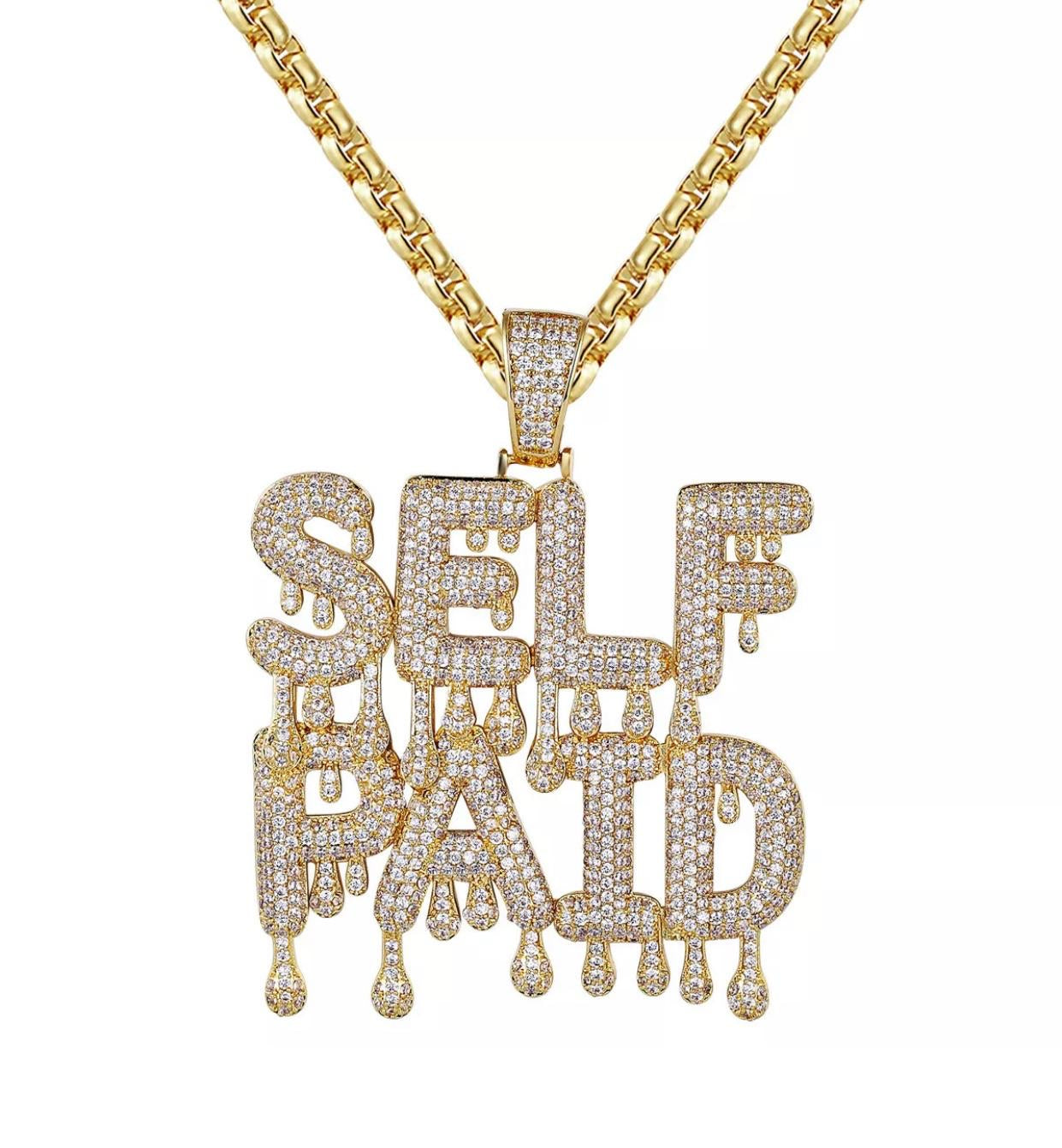 Self Paid pendant with Necklace