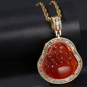 Buddha Pendant and Necklace