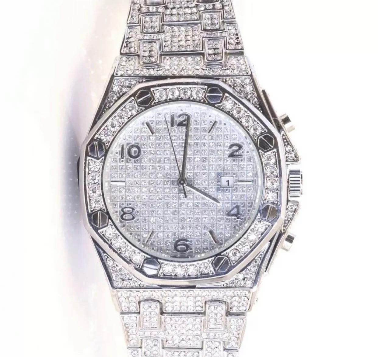 Diamond watch- Fully Iced