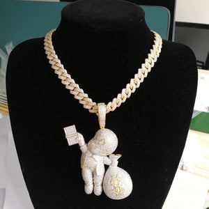 Necklace and pendant set